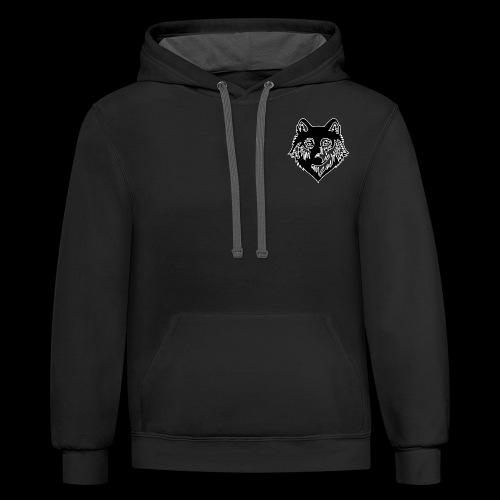 logowolf HD - Contrast Hoodie