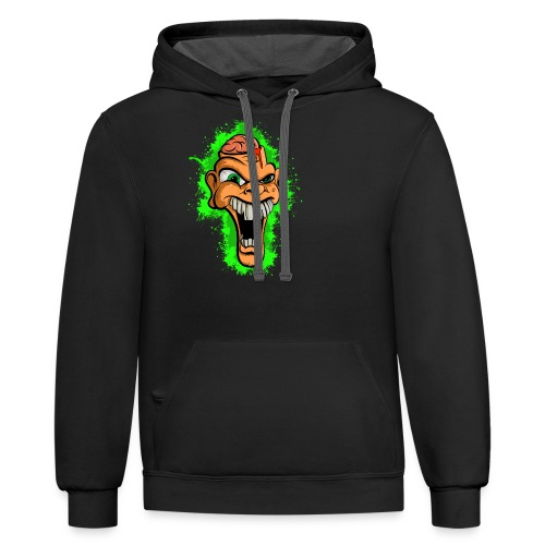Out of sorts... - Contrast Hoodie