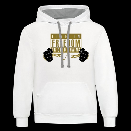 Live Free - Contrast Hoodie