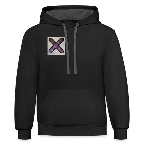 Purple XaRo - Unisex Contrast Hoodie