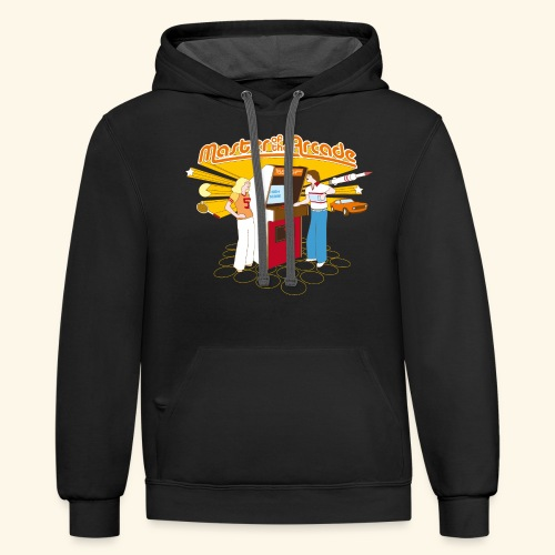 Master of the Arcade - Contrast Hoodie