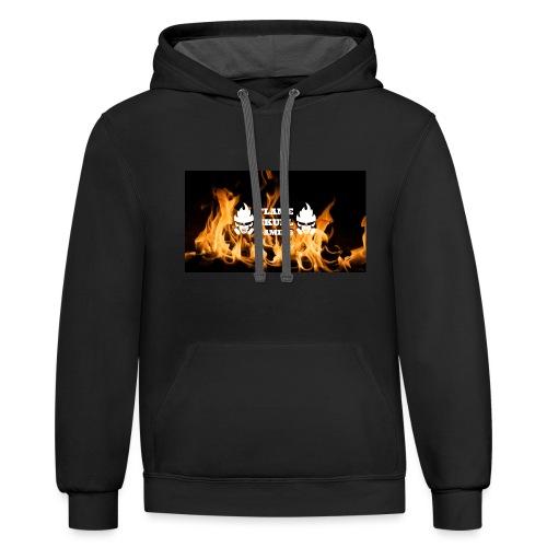 Flame Skulls Merchandise 2018- 2019 - Contrast Hoodie