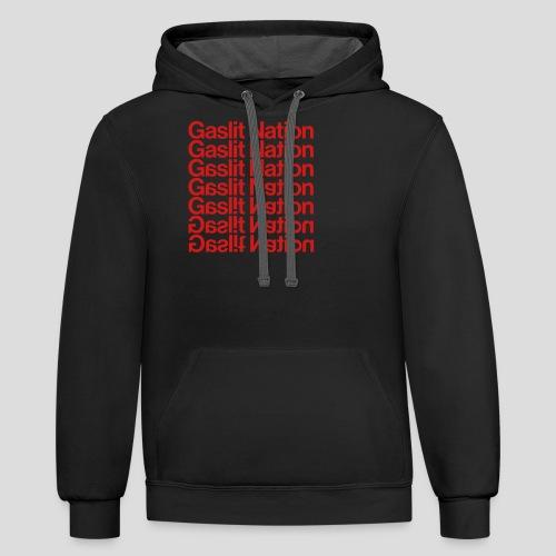 Gaslit Nation - Contrast Hoodie