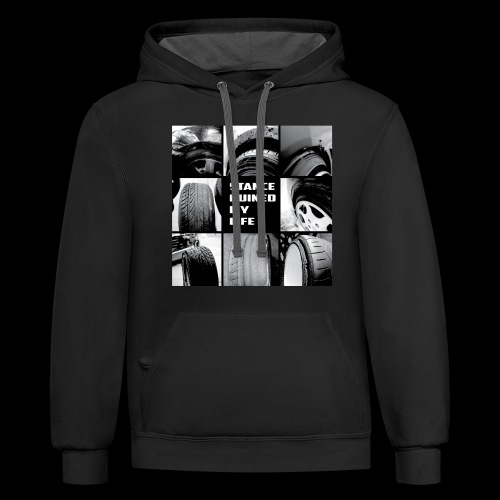 Stance Ruined My Life - Unisex Contrast Hoodie