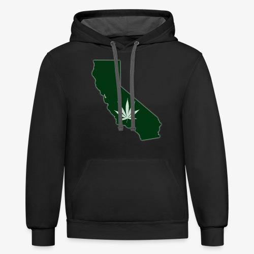 weed - Unisex Contrast Hoodie