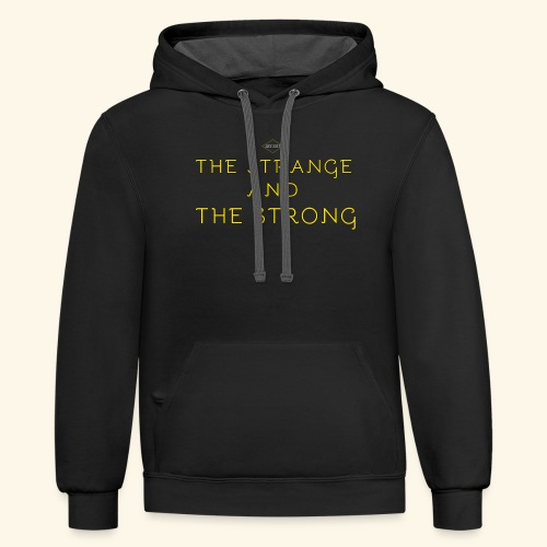 The Strange and The Strong Apparel - Contrast Hoodie