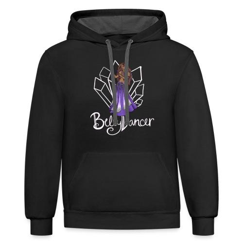 Belly Dancer - Contrast Hoodie