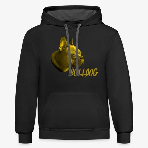 Bulldog,Bulldogge,French Bulldogge,Hundrasse,Hund - Contrast Hoodie