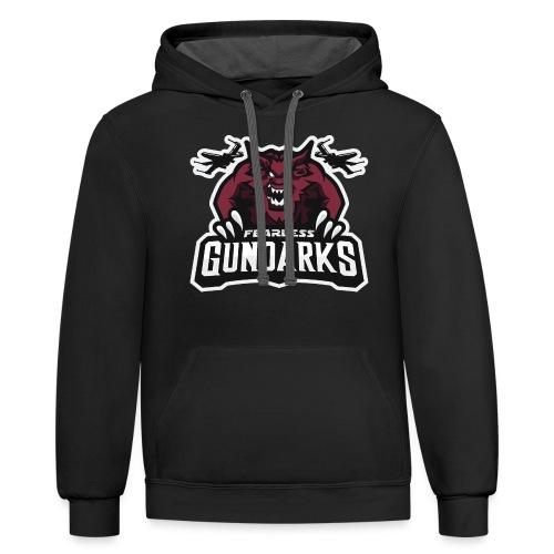 Fearless Gundarks - Unisex Contrast Hoodie