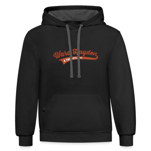 Ward Hayden Outliers Logo no background - Contrast Hoodie