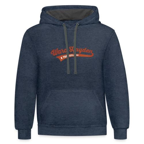 Ward Hayden Outliers Logo no background - Contrast Hoodie