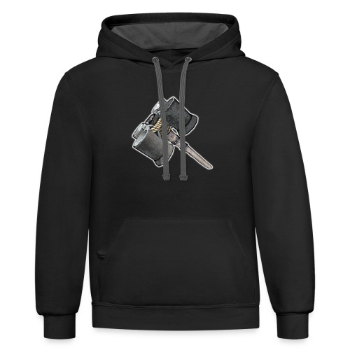 Weaponized Junk Mod - Unisex Contrast Hoodie