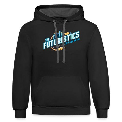 futuristics 2019 Robotics Shirt - Unisex Contrast Hoodie