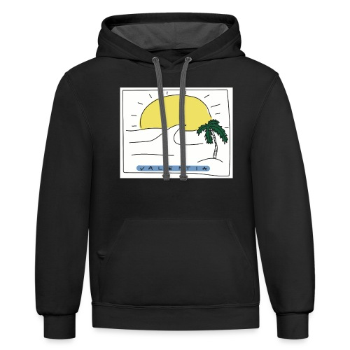 Surf's up - Unisex Contrast Hoodie