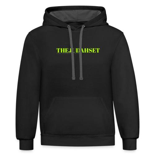 THEJUDAHSET - Unisex Contrast Hoodie