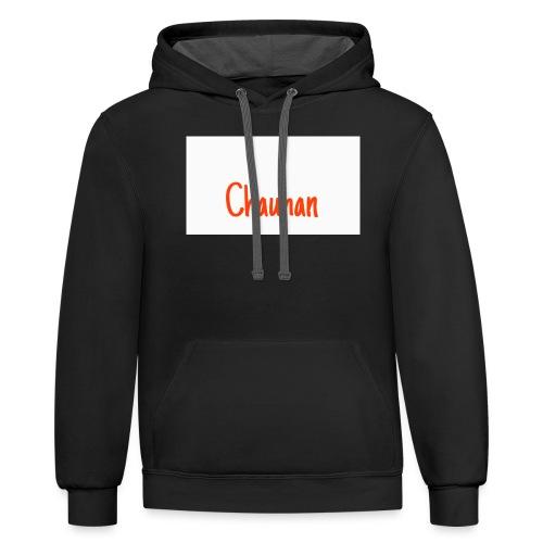 Chauhan - Unisex Contrast Hoodie