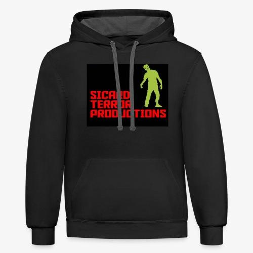 Sicard Terror Productions Merchandise - Contrast Hoodie