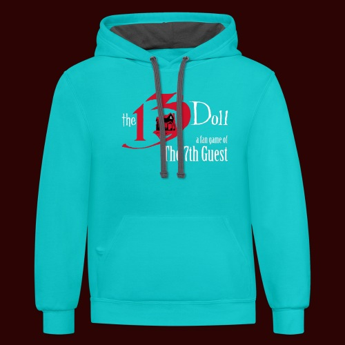 The 13th Doll Logo - Contrast Hoodie