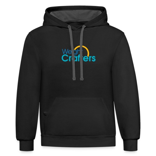 Weight Crafters Logo - Contrast Hoodie