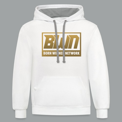 BWN (Gold) - Contrast Hoodie
