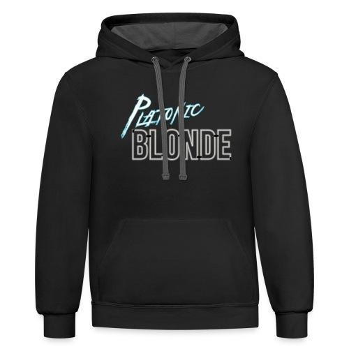 Platonic Blonde - Contrast Hoodie