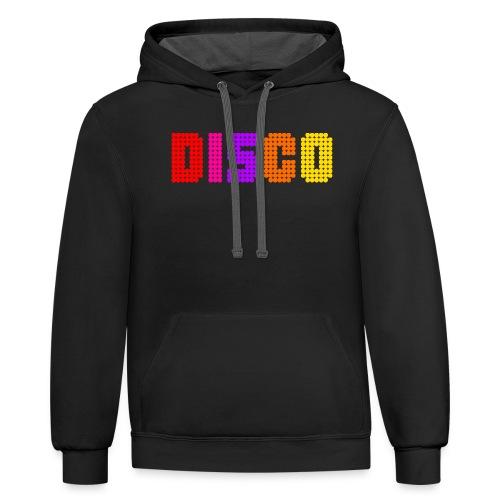 disco - Unisex Contrast Hoodie