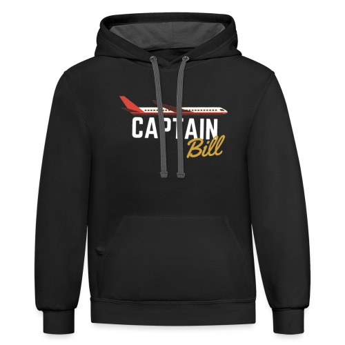 Captain Bill Avaition products - Unisex Contrast Hoodie
