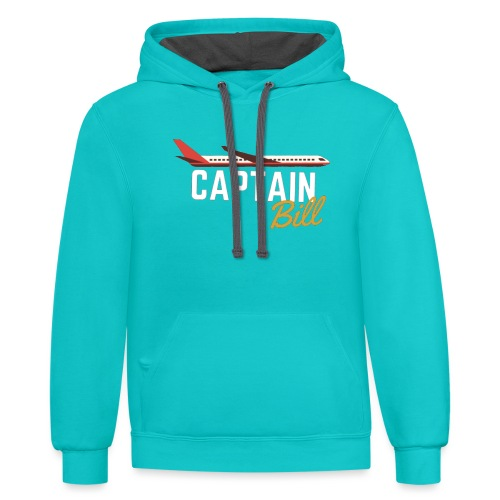 Captain Bill Avaition products - Contrast Hoodie