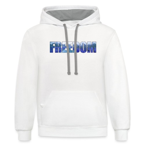 Freedom Photography Style - Contrast Hoodie