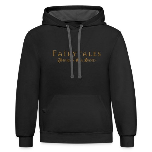 Fairy Tales Official Logo - Unisex Contrast Hoodie