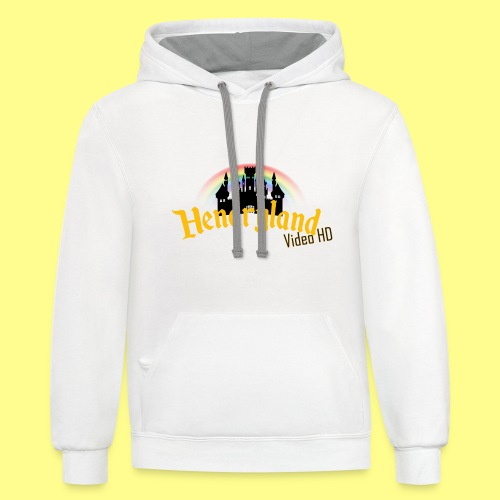 HENDRYLAND logo Merch - Contrast Hoodie