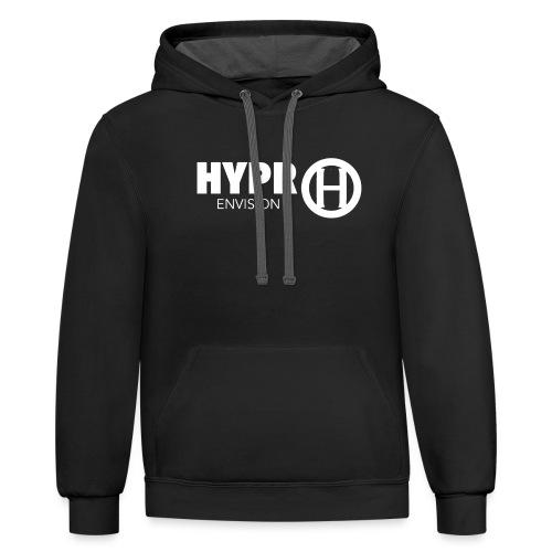 HYPR ENVISION S1 - Unisex Contrast Hoodie