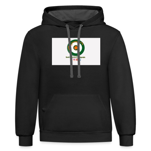 David Doyle Arts & Photography Logo - Contrast Hoodie