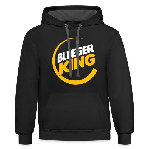 Blueger King - Contrast Hoodie