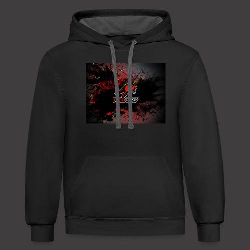RedOpz Splatter - Contrast Hoodie