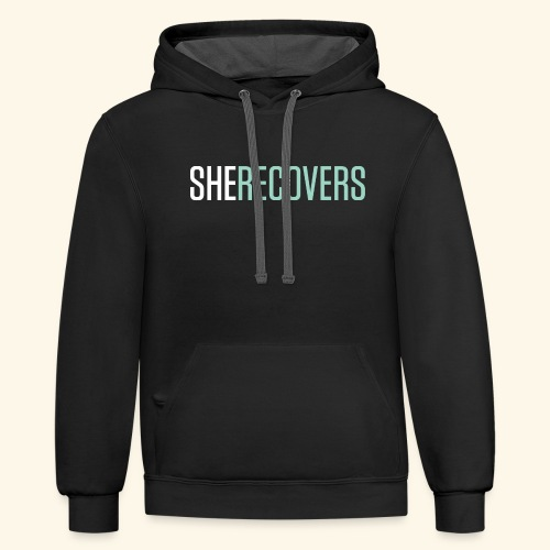 She Recovers - Contrast Hoodie