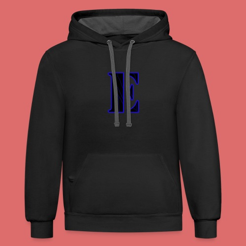 Limited Edition E logo - Contrast Hoodie