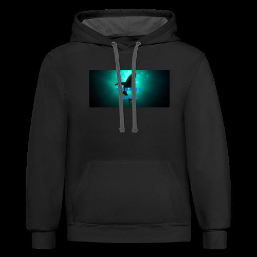 Sharky gang hoodies - Contrast Hoodie