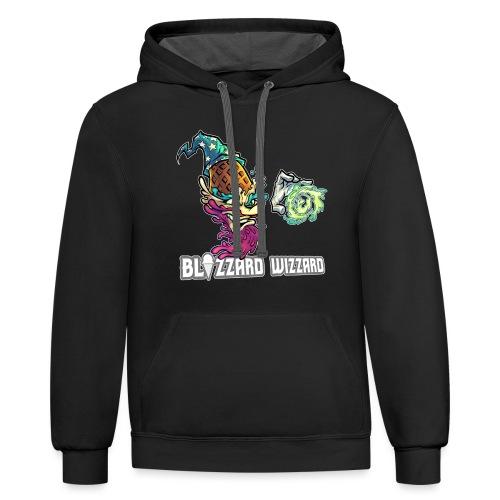Blizzard Wizzard [Variant] - Unisex Contrast Hoodie