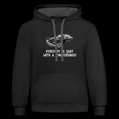 Thunderbird - Contrast Hoodie