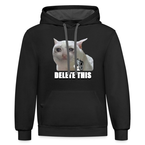 DELETE THIS - Contrast Hoodie