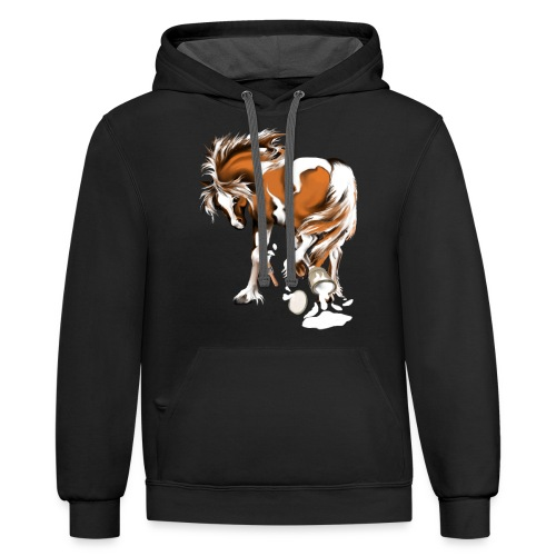 Paints and Paints.... - Contrast Hoodie