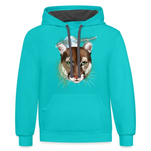 Midnight Puma - Contrast Hoodie