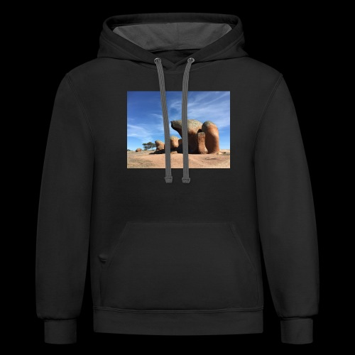 Rock and Roll - Contrast Hoodie