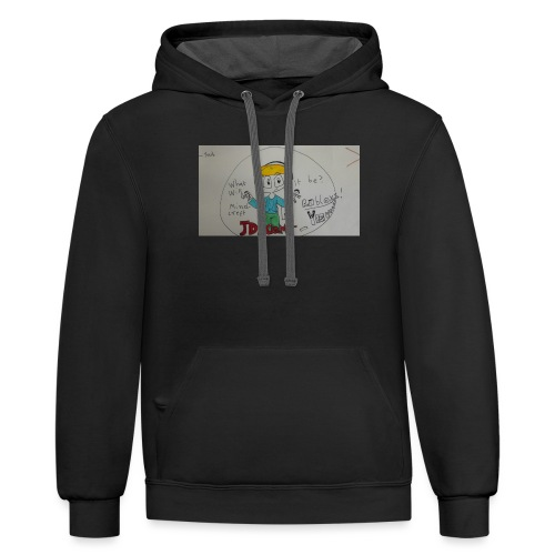 Gamerjd hoodie - Contrast Hoodie