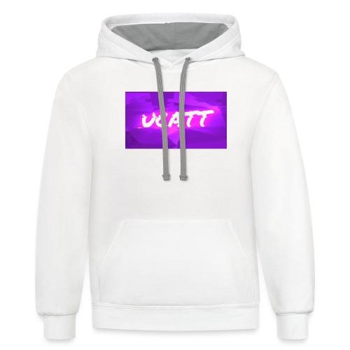 UCATT Logo - Contrast Hoodie