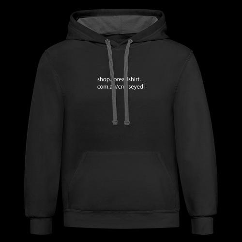 shop link - Contrast Hoodie