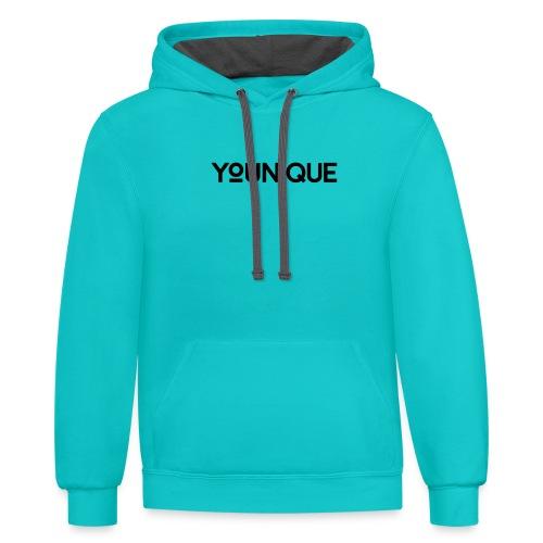 Uniquely You - Contrast Hoodie