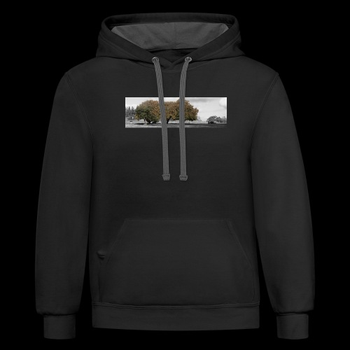 Fall colours - Unisex Contrast Hoodie