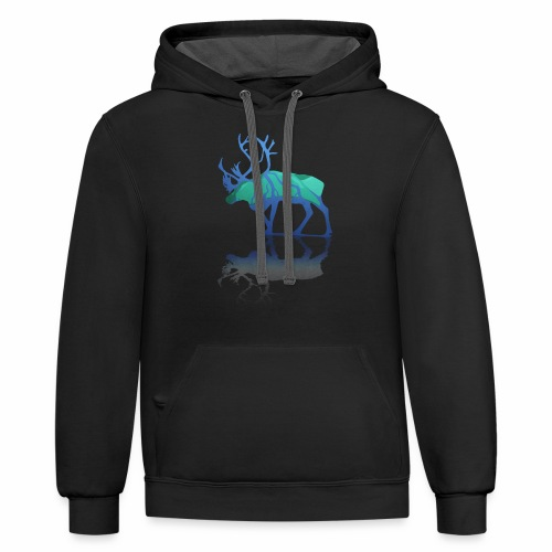 The Great Outdoors - Unisex Contrast Hoodie
